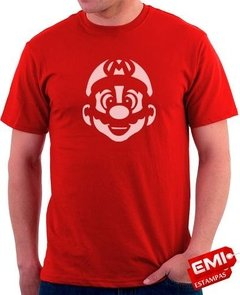 Camiseta Games Mario Bros