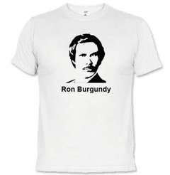 Camiseta Ron Burgundy 1302