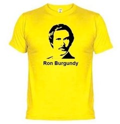 Camiseta Ron Burgundy 1302 na internet
