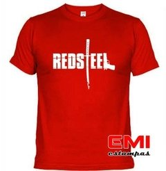 Camiseta Games Red Steel