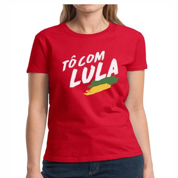 Camiseta Lula Livre To Com Lula