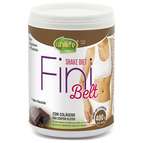 Shake Diet com Colágeno Fini Belt chocolate - 400g