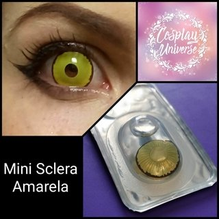 Mini Sclera Yellow Amarela
