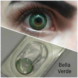 Circle Lens Bella Dodo Verde 15.0mm