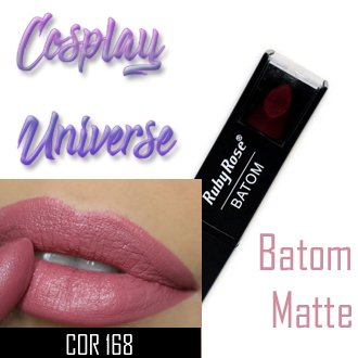 Batom Matte Cor 168 - Ruby Rose na internet