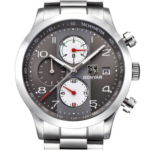 1099bf1452a ... Relógio Benyar Tachymeter - The king of Watches