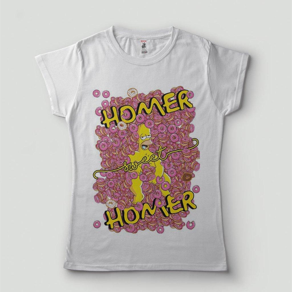 89338ae4b7 blusa feminina engracada homer simpson barata