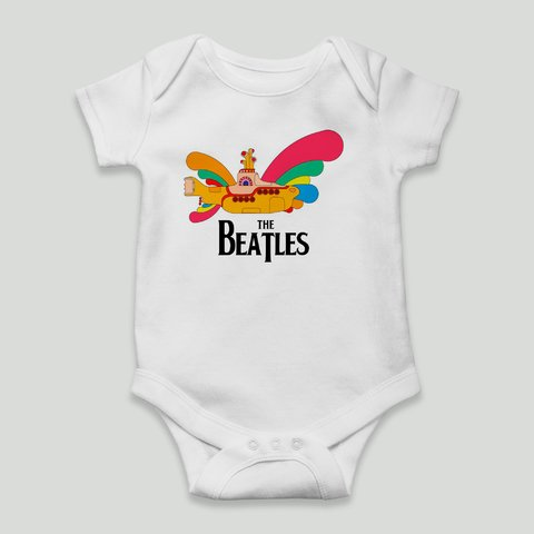 body yellow submarine bebe the beatles bandas de rock
