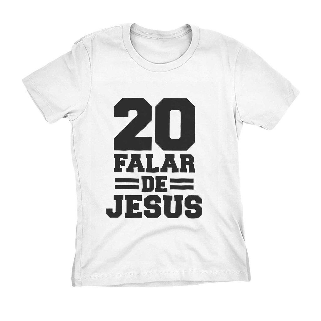 ee82862a33 camiseta evangelica feminina camisa gospel jesus numero 20