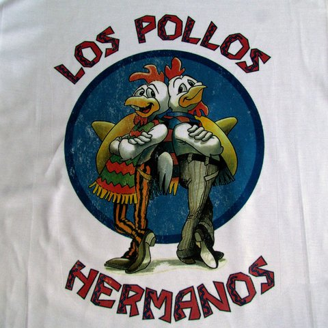 Camisa Los Pollos Hermanos Breaking Bad Heisenberg Original na internet
