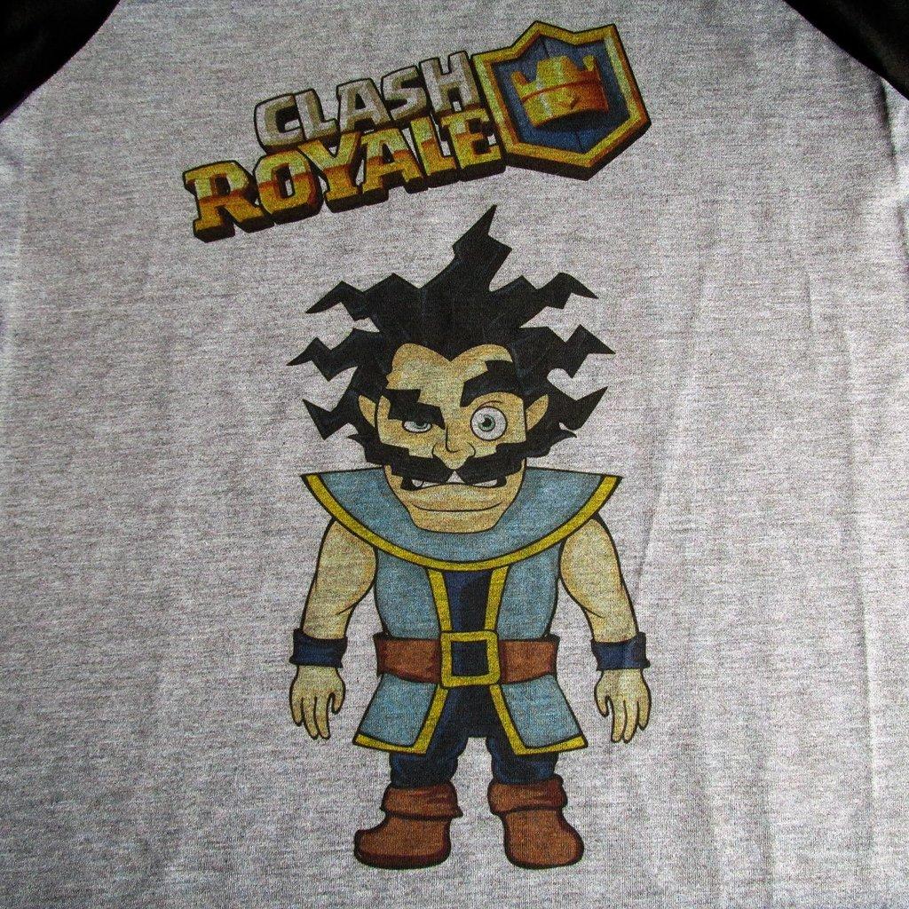 c3019997f1 ... LOJADACAMISA Camiseta Mago Eletrico Game Clash Royale Masculina  Personagem - loja online ...