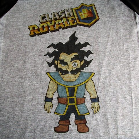 Camiseta Mago Eletrico Game Clash Royale Masculina Personagem - loja online