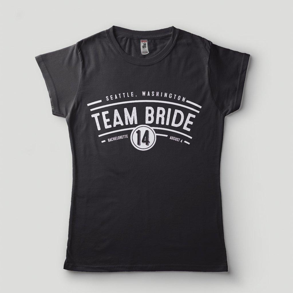af8505986 camiseta despedida de solteira team bride noiva casamento
