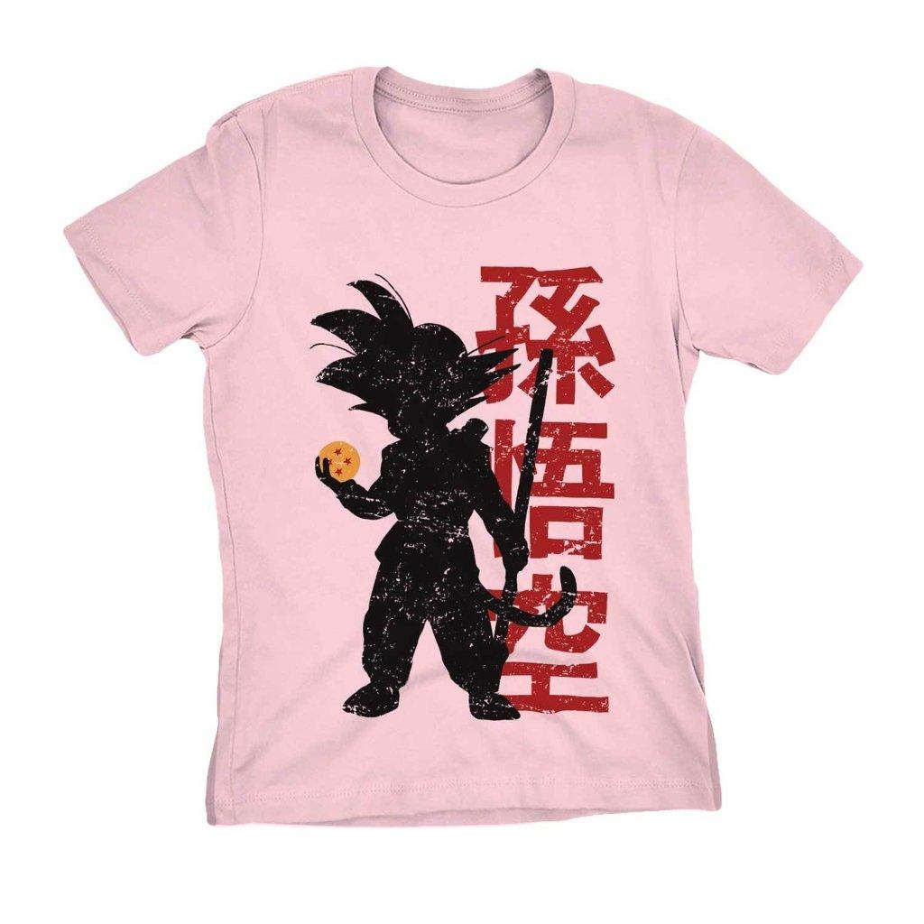 Camiseta Goku Dragon Ball Naruto Camisa Feminina Blusa