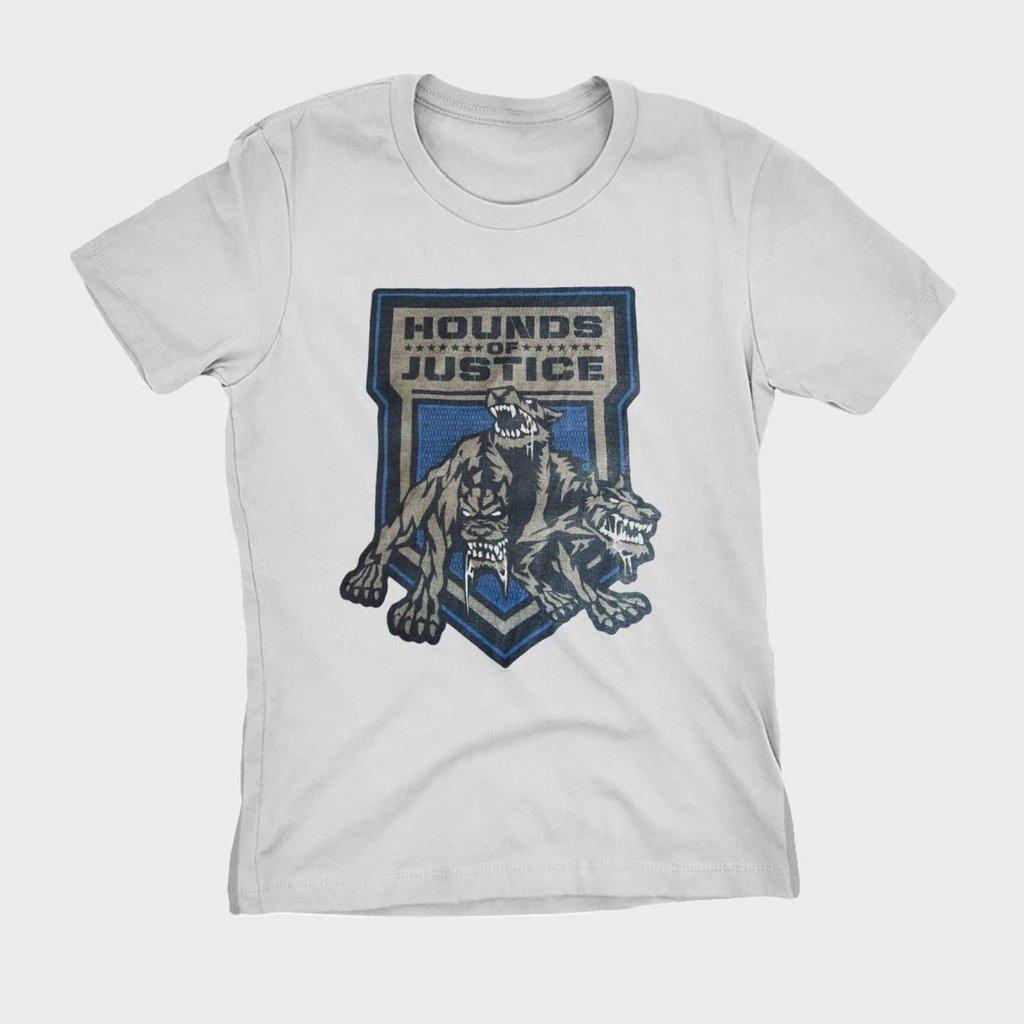 9e06c55f9 Camiseta WWE Hound of justice Roman Reigns Blusa Camisa Feminina