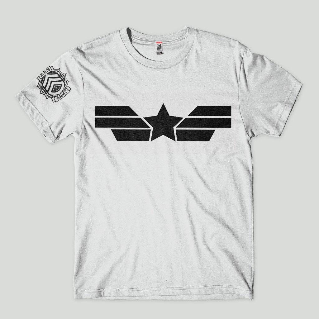 d6c89d2616 camiseta gospel evangelica exercito de jesus camisa jovens