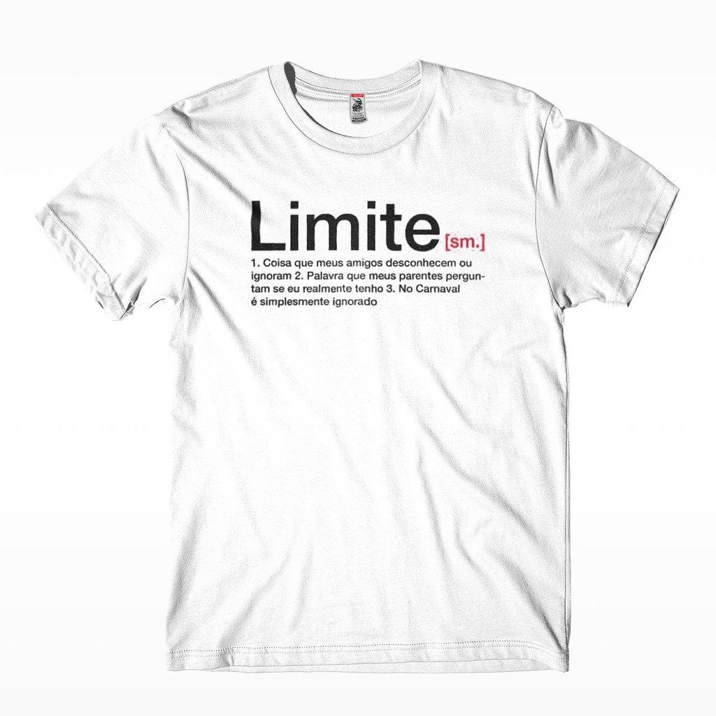 c3f491b02c0ac camiseta limite masculina para o carnaval frases engracadas