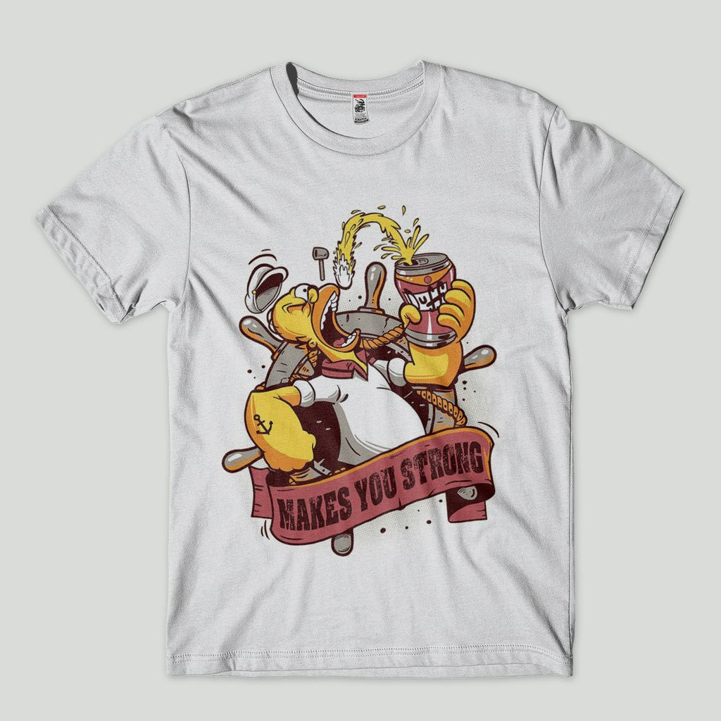 560d6adcc camiseta masculina engracada homer simpson estampada