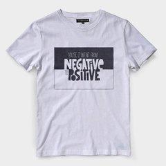 57c0f6c420 Camiseta Estampa de RAP notorious big negative to positive