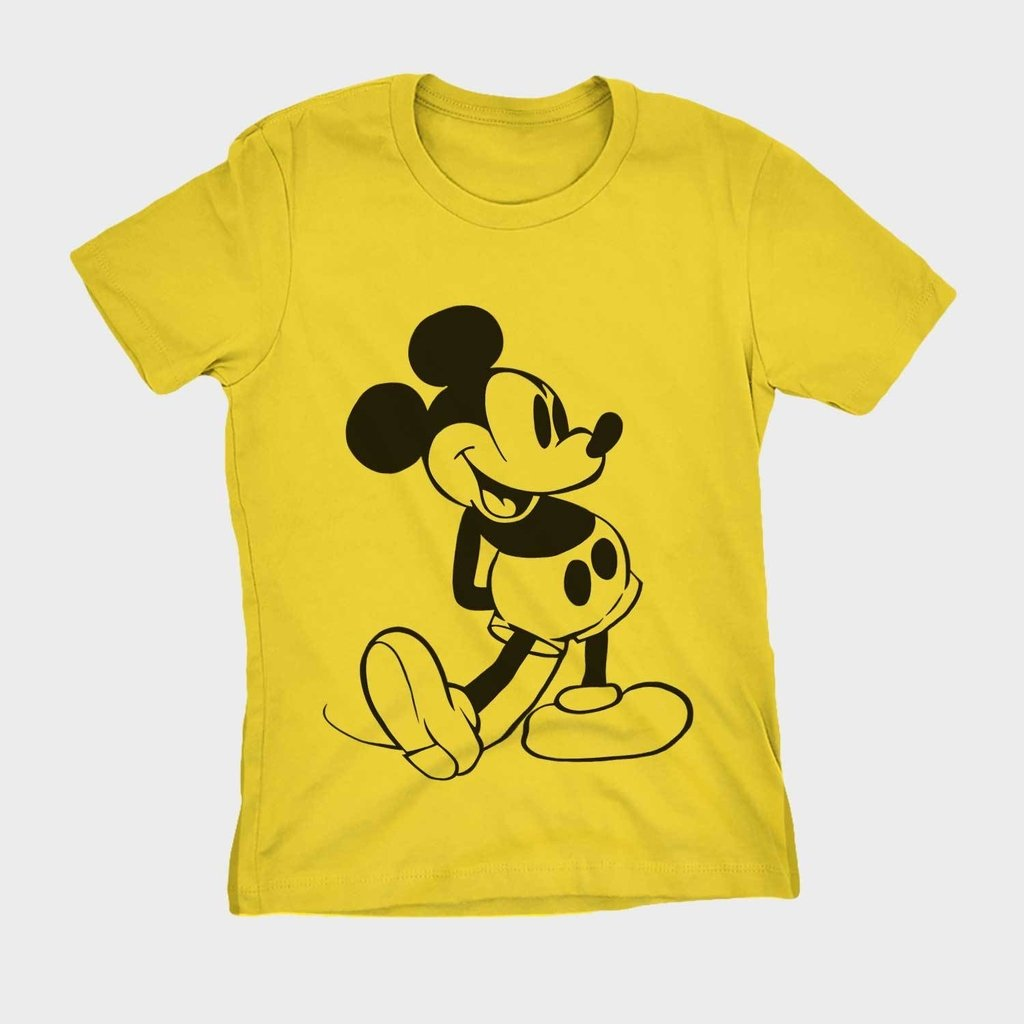 ca9acaa26a ... Blusa feminina estampa mickey mouse camisa barata na internet ...