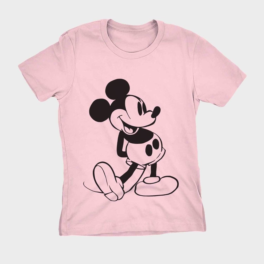 f6748b4d454fb Blusa feminina estampa mickey mouse camisa barata