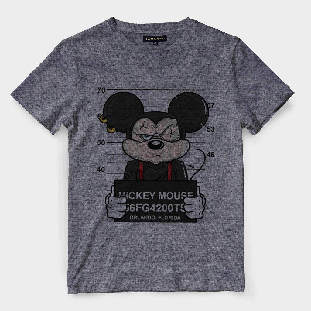 9ea8c56ec7 Camiseta Mickey Swag Preso Camisa Masculina Blusa