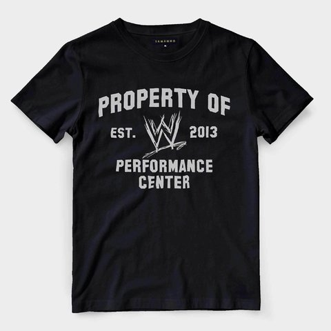 Camiseta Performance Center Wwe Wreslemania Raw Masculina - LOJADACAMISA