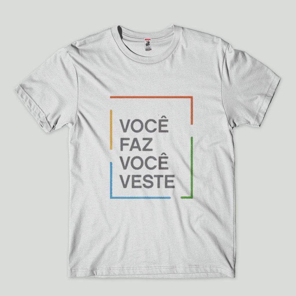 aff6bf512d ... Camiseta personalizada Masculina Estampada - Faca sua camisa - comprar  online ...