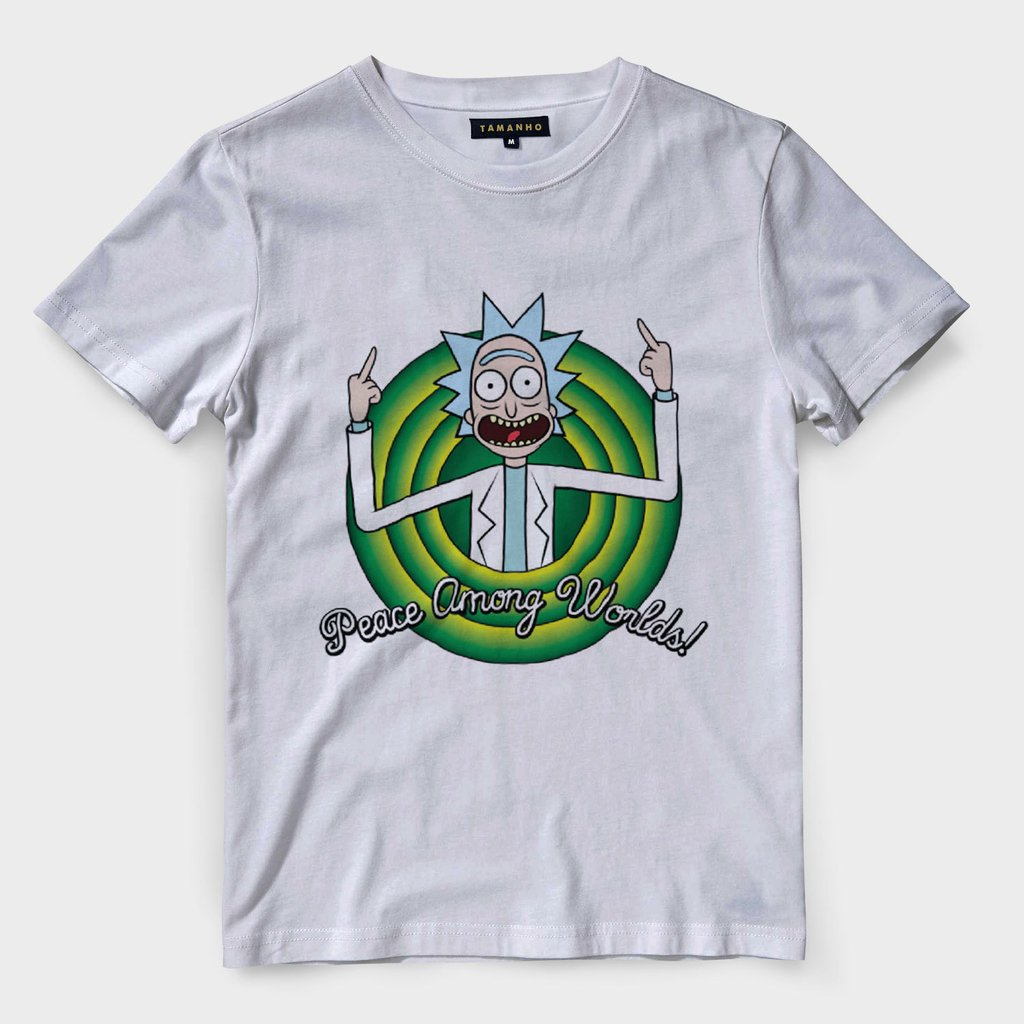 cfcd6987b7 Camiseta Rick And Morty Masculina Camisas Blusas Baratas