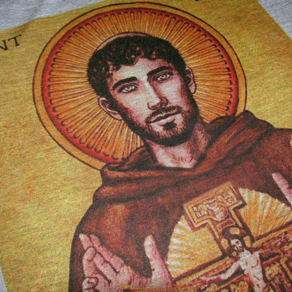 3d34f6d479 Camiseta São Francisco de Assis Gospel Religiosa Evangelica Santo