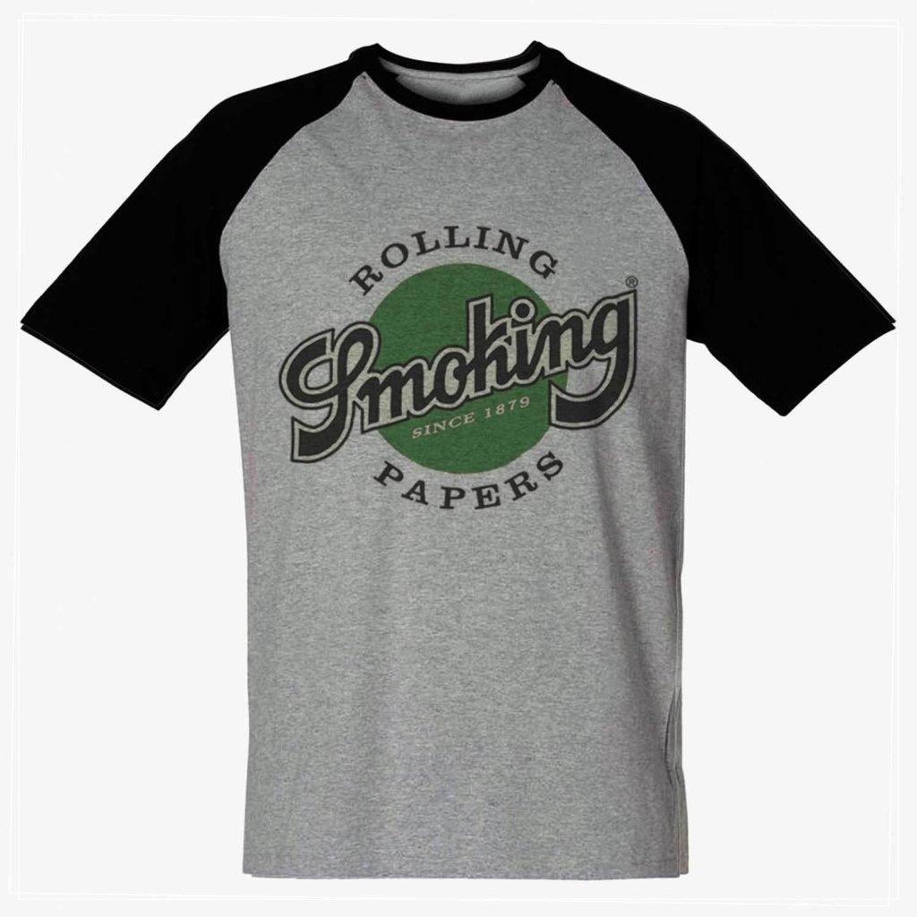 164341b40 Camiseta Smoking Rolling papers 420 maconha Barata