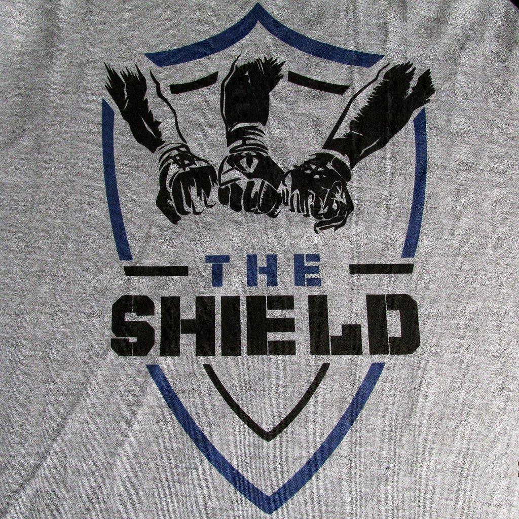 284432419 ... Camiseta The Shield WWE Masculina Wrestling Blusa Camisa - LOJADACAMISA  ...