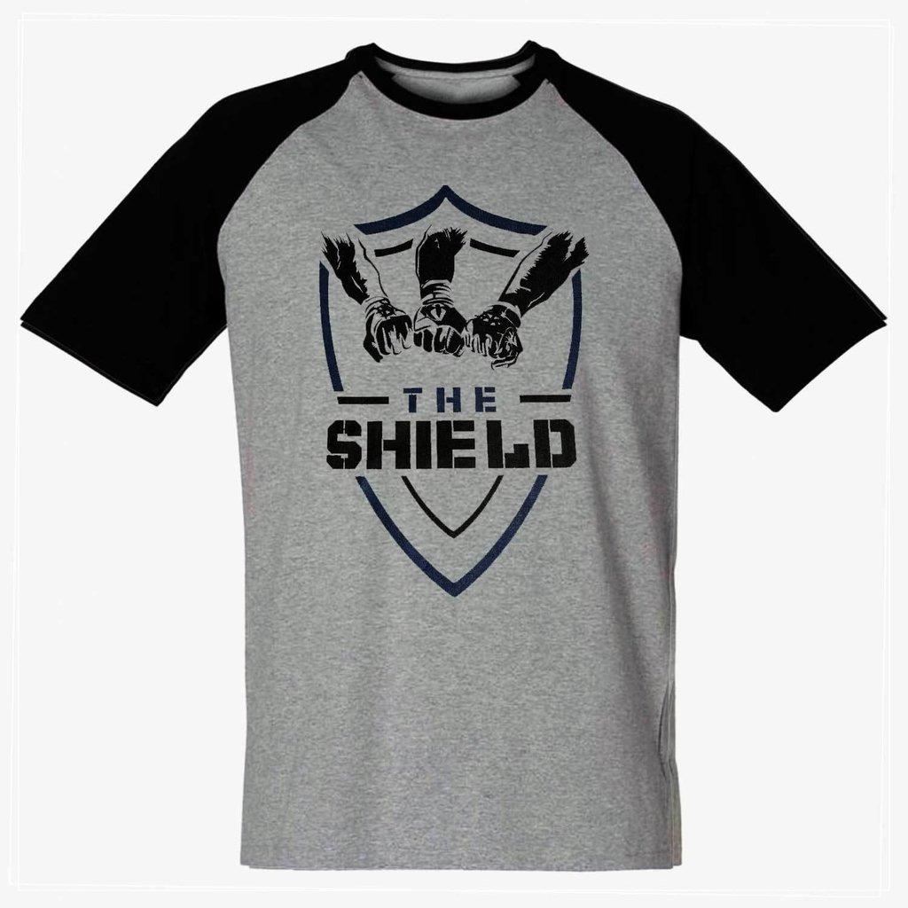 bfb2d526c Camiseta The Shield WWE Masculina Wrestling Blusa Camisa