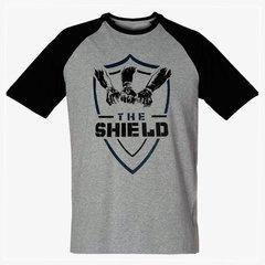 d3aaa79405 Camiseta The Shield Wwe Masculina Wrestling Blusa NXT Escudo