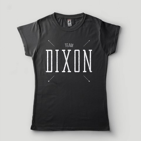 Camiseta The Walking Dead Feminina Daryl Dixon