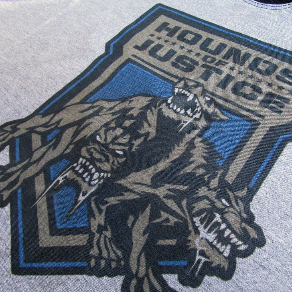 09b9c56e7 ... Camiseta WWE Hound of justice Roman Reigns Wrestling na internet ...