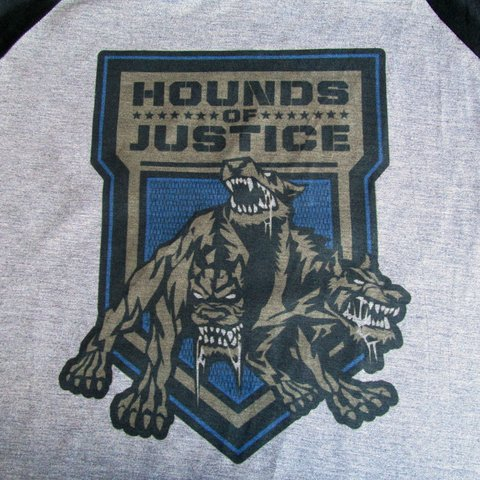 Camiseta Wwe Hound Of Justice Roman Reigns Wrestling