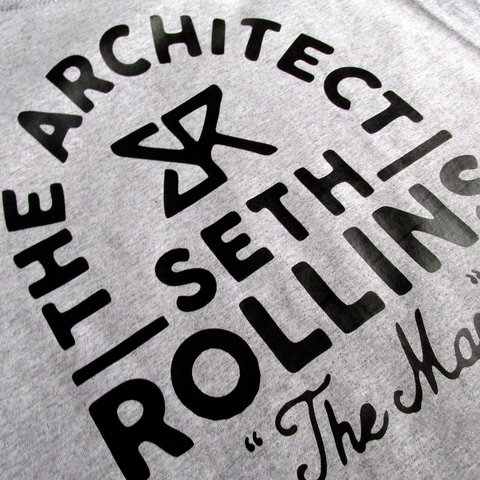 Camisa Seth Rollins The Architect  Wwe Camisa Masculina - comprar online