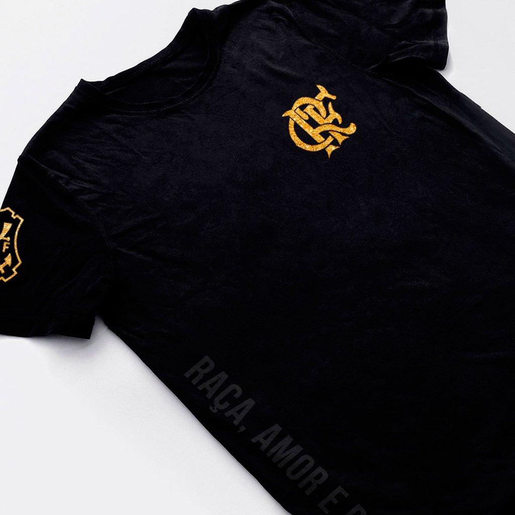 camisa do flamengo preta masculina camiseta futebol 2018 7abc013463d92