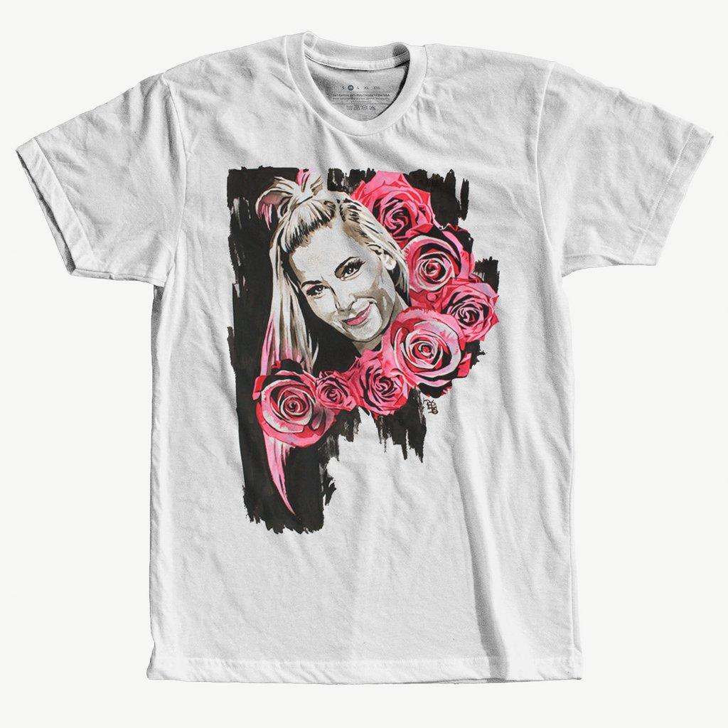 307d04997 Camiseta Natalya The Dungeon WWE Diva Blusa Camisa - Pro Wrestling