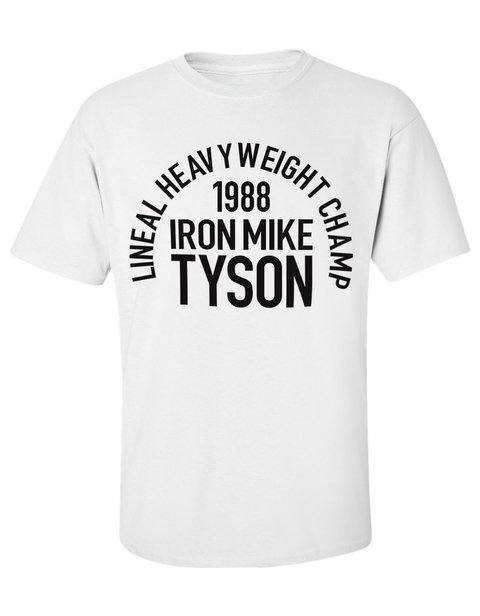 Camiseta Mike Tyson Boxe lineal heavyweight Champion - LOJADACAMISA