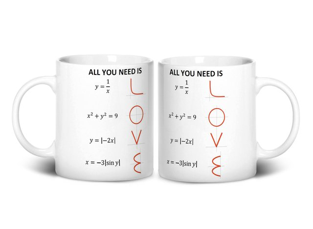 Caneca All You Need Is Love na internet