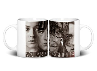 Caneca Stark Valar Morghulis | Game of Thrones