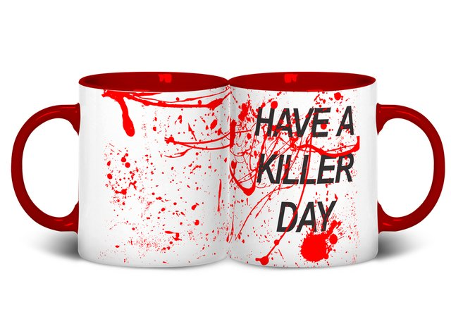 Caneca Have a Killer Day | Dexter