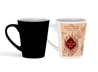 Caneca Cônica Mágica Harry Potter | Mapa do Maroto
