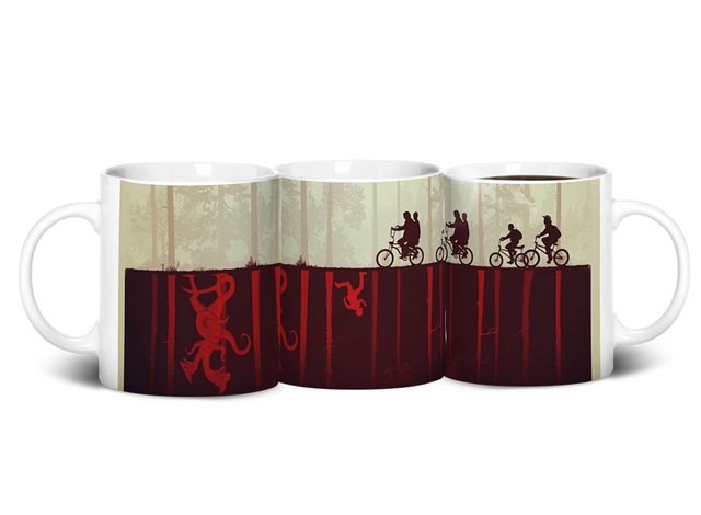 Caneca Stranger Things - Mundo Invertido