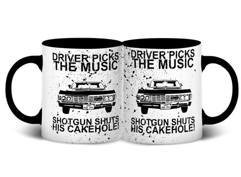 Caneca Driver Picks | Supernatural