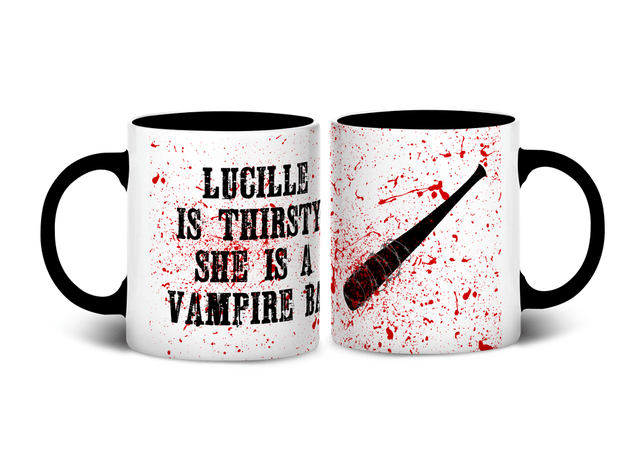 Caneca Lucille is Thirsty | The Walking Dead