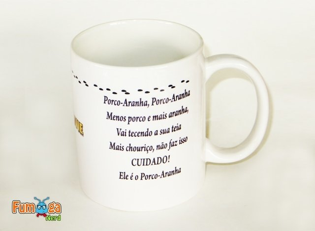 Caneca The Simpsons - Porco Aranha na internet