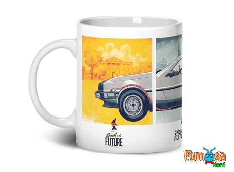 Caneca De Volta Para O Futuro - Back To The Future na internet